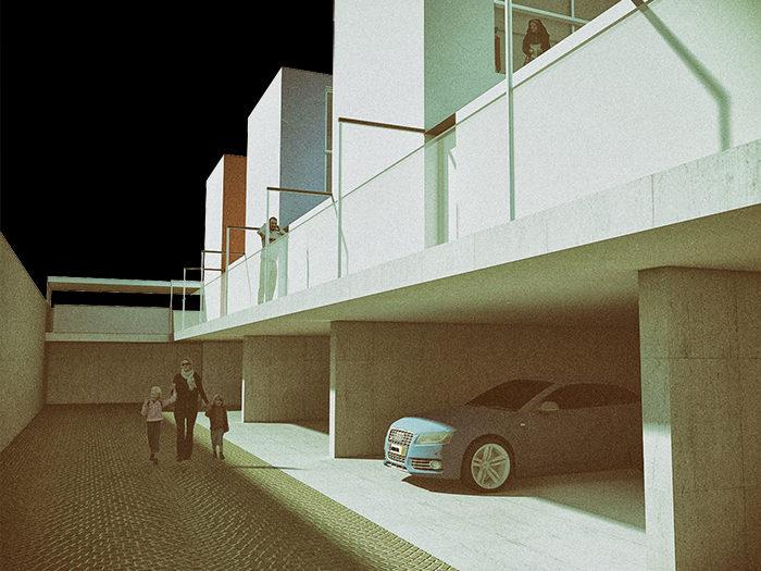 Case residenze housing schiera ballatoio sesto san for Case progettate da architetti