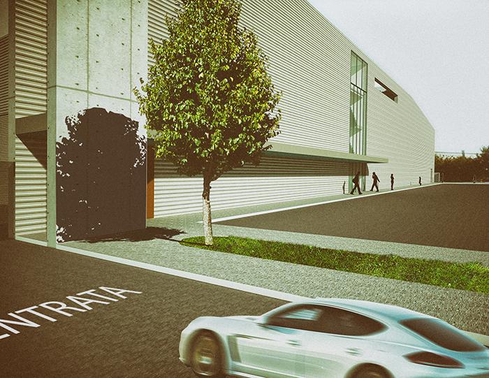 FGSA studio di architettura arch Fabrizio Guccione architetti Monza complesso produttivo architettura