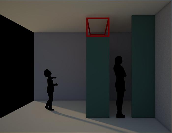 interior red blue color Fabrizio Guccione architetto FGSA FG SA studio di architettura Milano photo