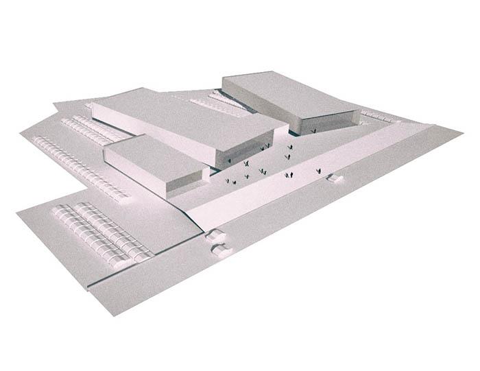 centro commerciale masterplan urbanistica agorà mall road fgsa studio di architettura milano fabrizio guccione architetto Mall masterplan urban agora road FGSA architectural firm milano architect