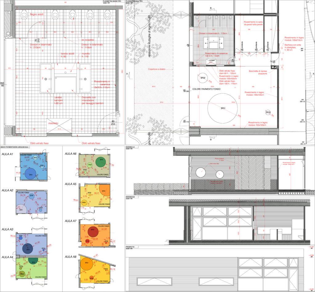 Chiuduno scuola materna primary school fgsa studio di architettura Fabrizio Guccione architetto Milano architetti spazio colore natura istruzione