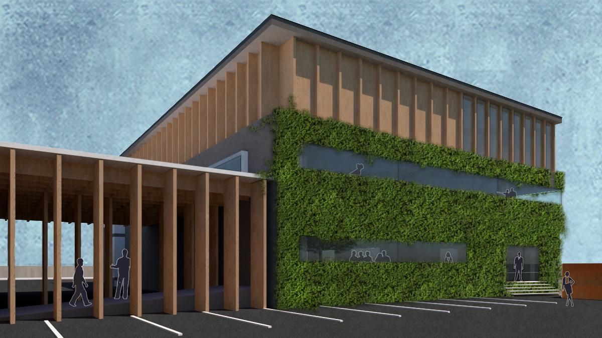 FGSA studio di architettura Fabrizio Guccione architect architetto Cesate industriale produttivo Treciluce showroom