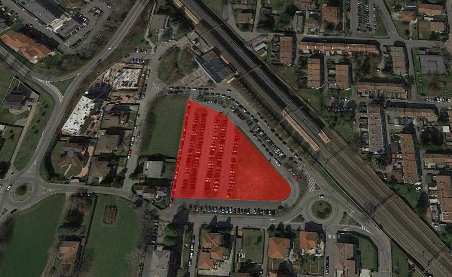 FGSA studio di architettura masterplan cesate casa dello studente studentato verde urbano progetto urbano FNM Ferrovie Stazione parcheggio nodo interscambio riqualificazione