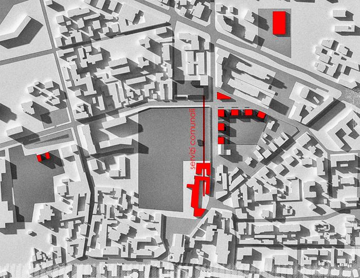 AT 03 Brugherio FGSA Fabrizio Guccione architetto Milano urbanistica planivolumetrico progetto urbano Secchi