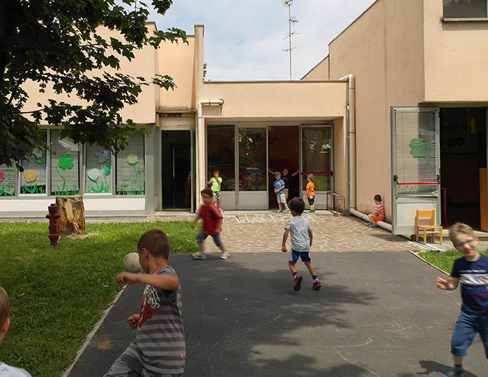 Cesate scuola materna rifacimento copertura progetto scuolesicura