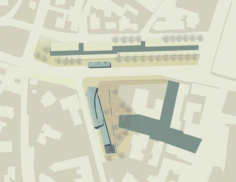 FG SA studio di architettura Fabrizio Guccione Architetto Milano Casalecchio di Reno Biblioteca Pubblica Public Library Garden Landscape
