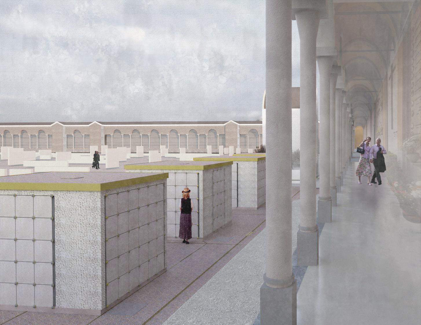 fgsa studio architettura milano fabrizio guccione giulia guarrasi paolo tatavitto lodi cimitero ossari cimitery ossuary charnel house